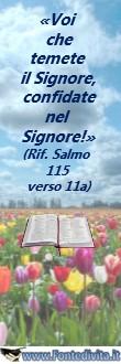 Banner di FontediVita.it dal titolo: Confidare nel Signore - Fonte di Vita Group